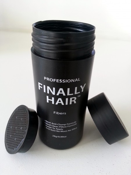 Hair Restoration Empty Finally Hair Applicator Bottle